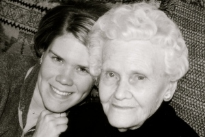 Granny Smith and me in 2002