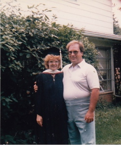 One of the few photos I have of just my parents...