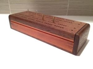 handmade cribbage board